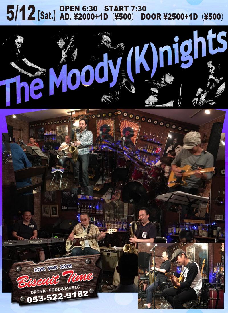 (土)  【Funk Fusion】  THE MOODY(K)NIGHTS :2018春の陣@BT